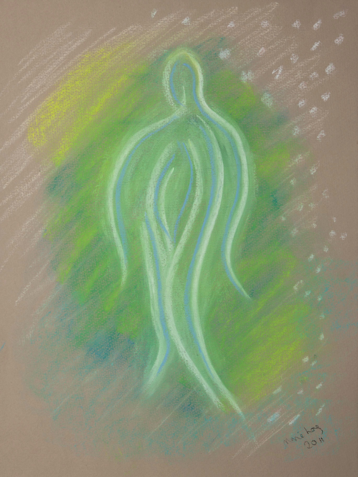Angel of Healing, Pastels