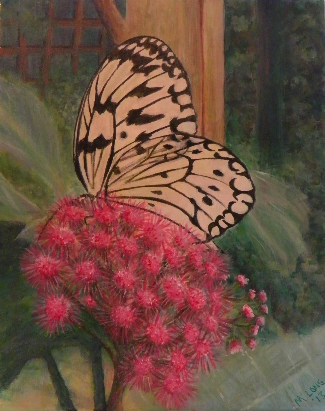 Butterfly, Acrylics