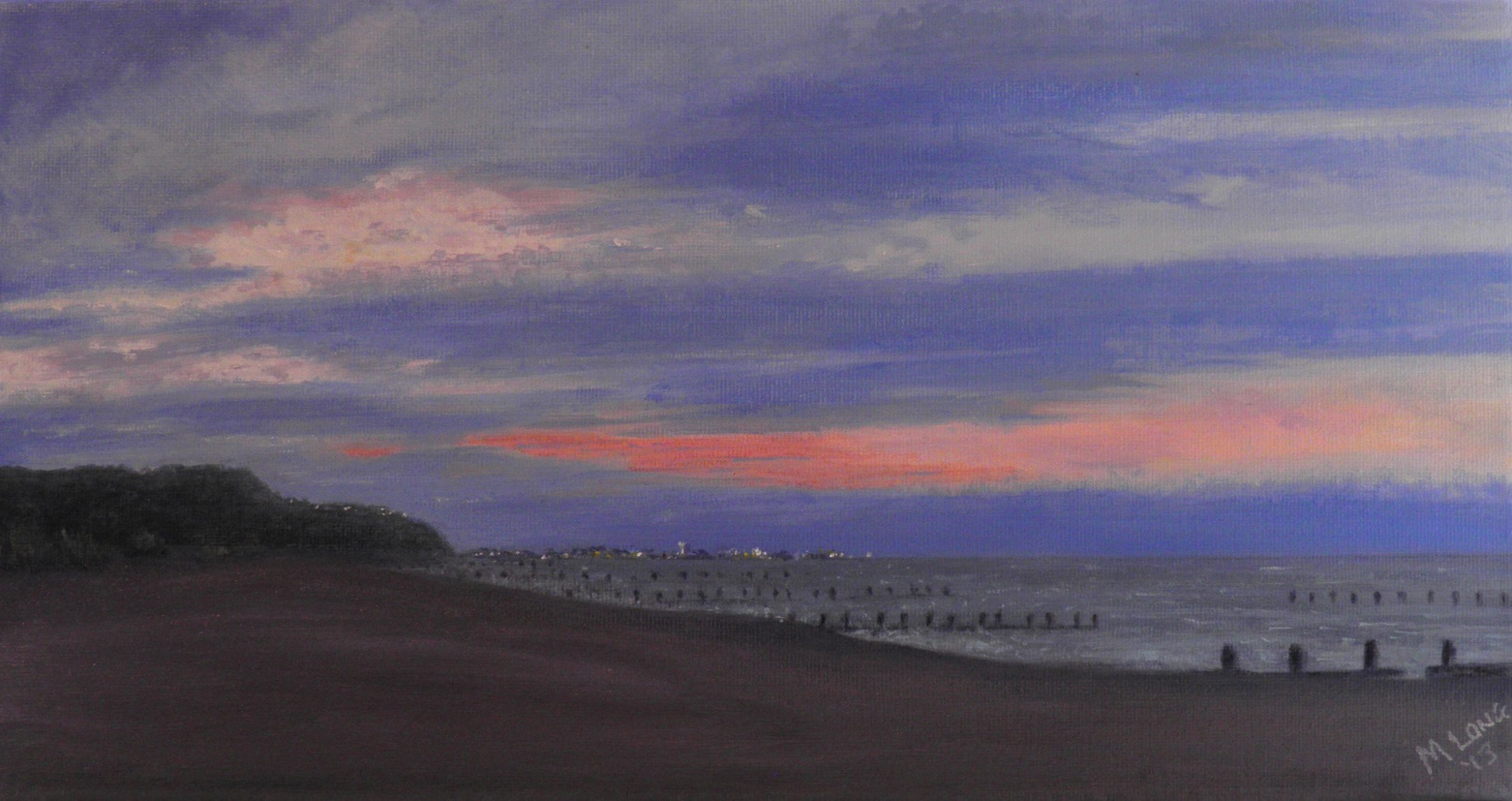 North Denes, Acrylics